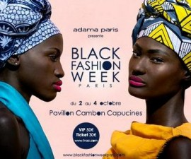 black fashion week de paris 2014