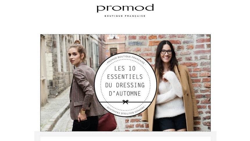 Dressing Automne Promod Arras
