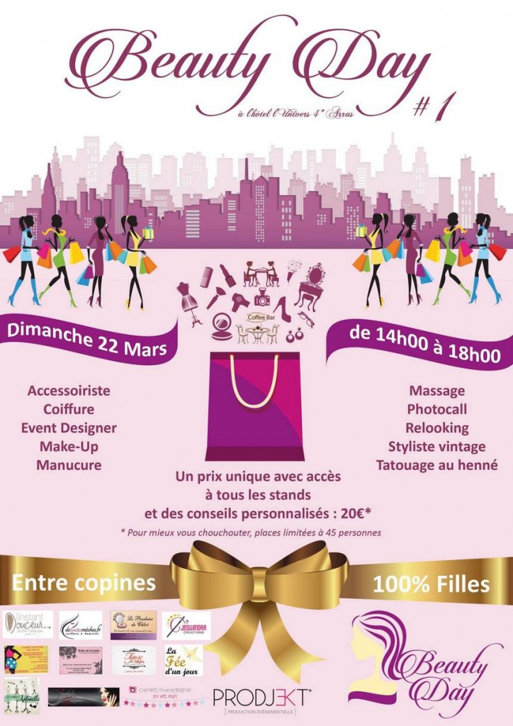 Affiche Beauty Day mars 2015