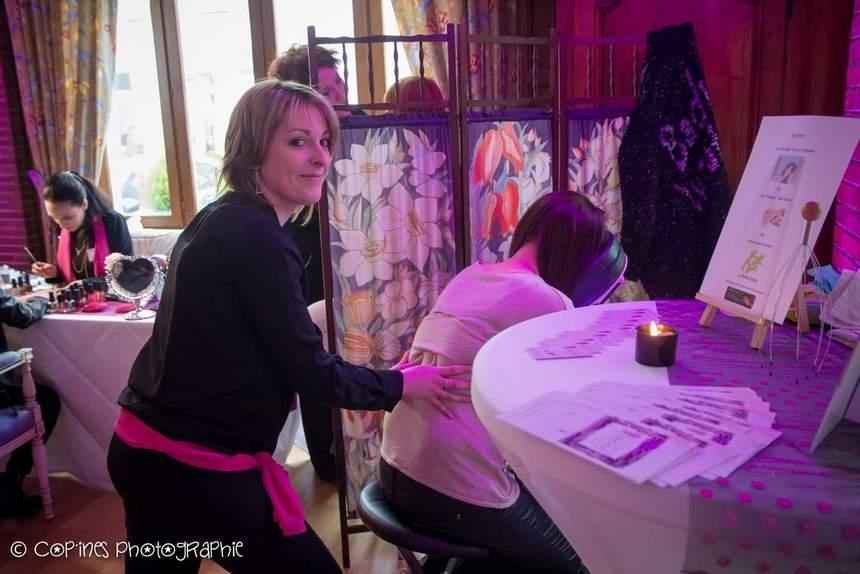Stand Massage avec Jennifer, esthéticienne, L'Instant douceur Arras
