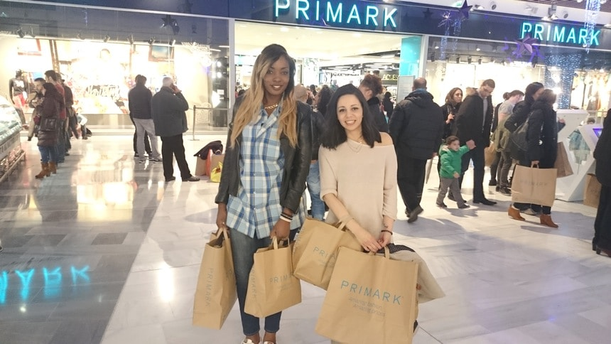 primark shopping paris