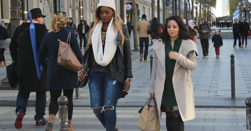 shopping paris champs elysées