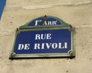 rue de rivoli a paris conseil en image