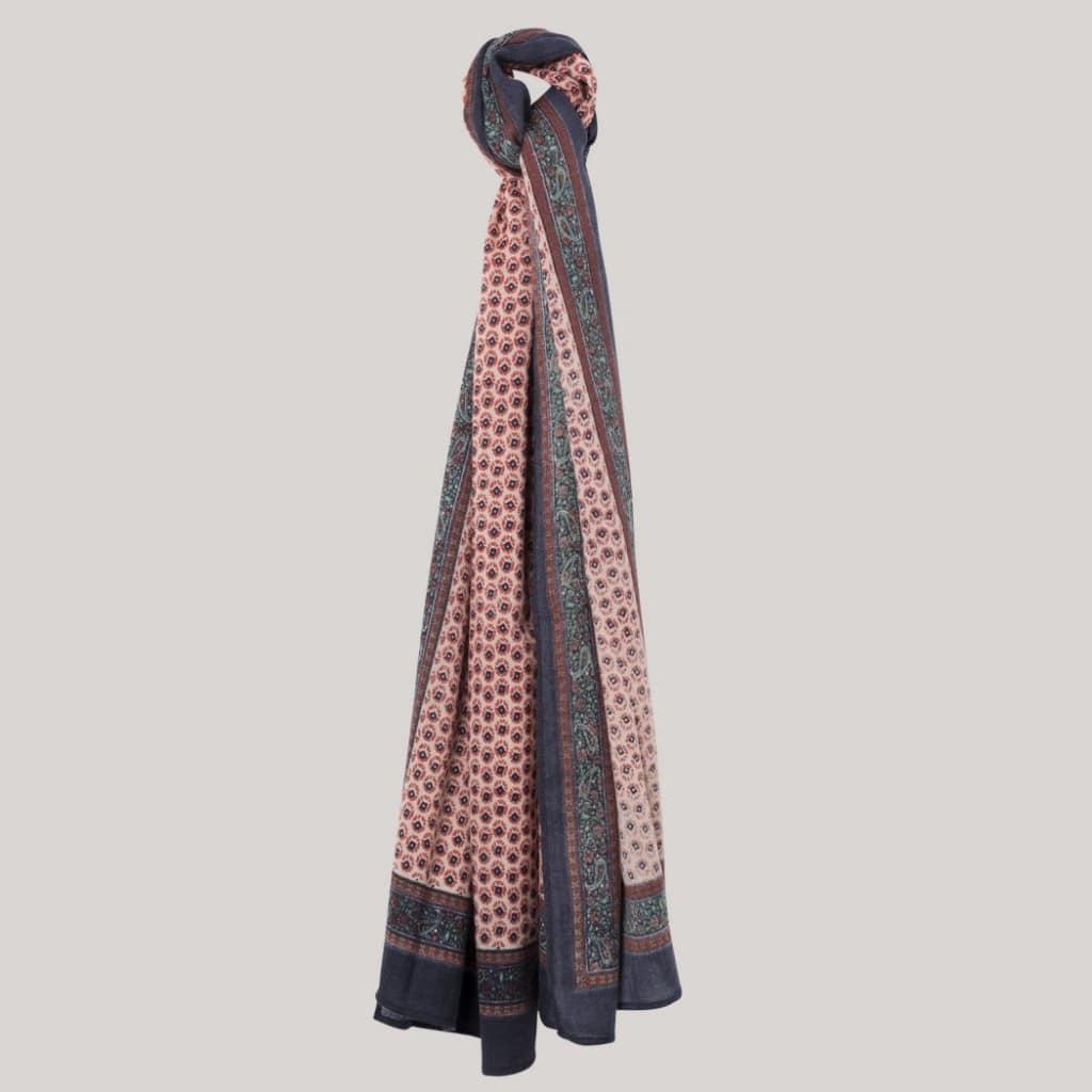 echarpe laine et viscose devred