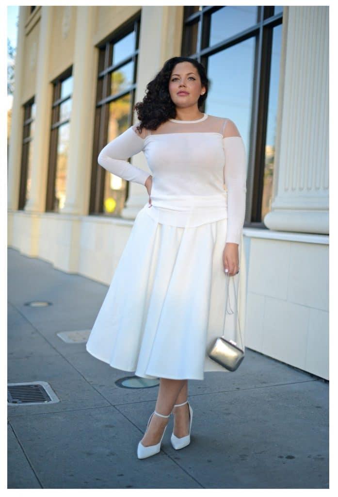 la mode du blanc