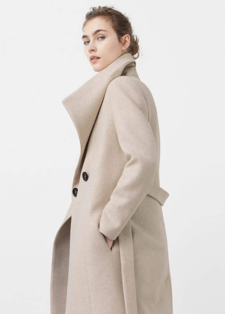Manteau mango hiver 2016