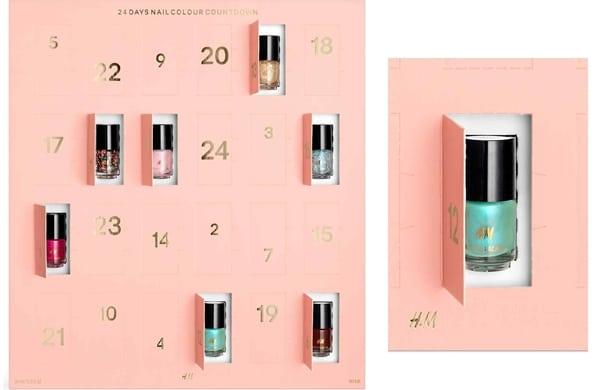 les plus beaux calendriers de l 39 avent beaut 2016 figure de styles. Black Bedroom Furniture Sets. Home Design Ideas