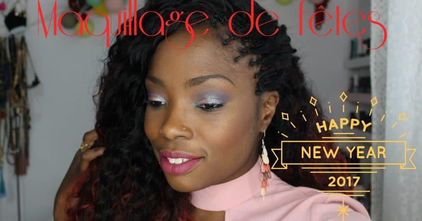 look maquillage noel