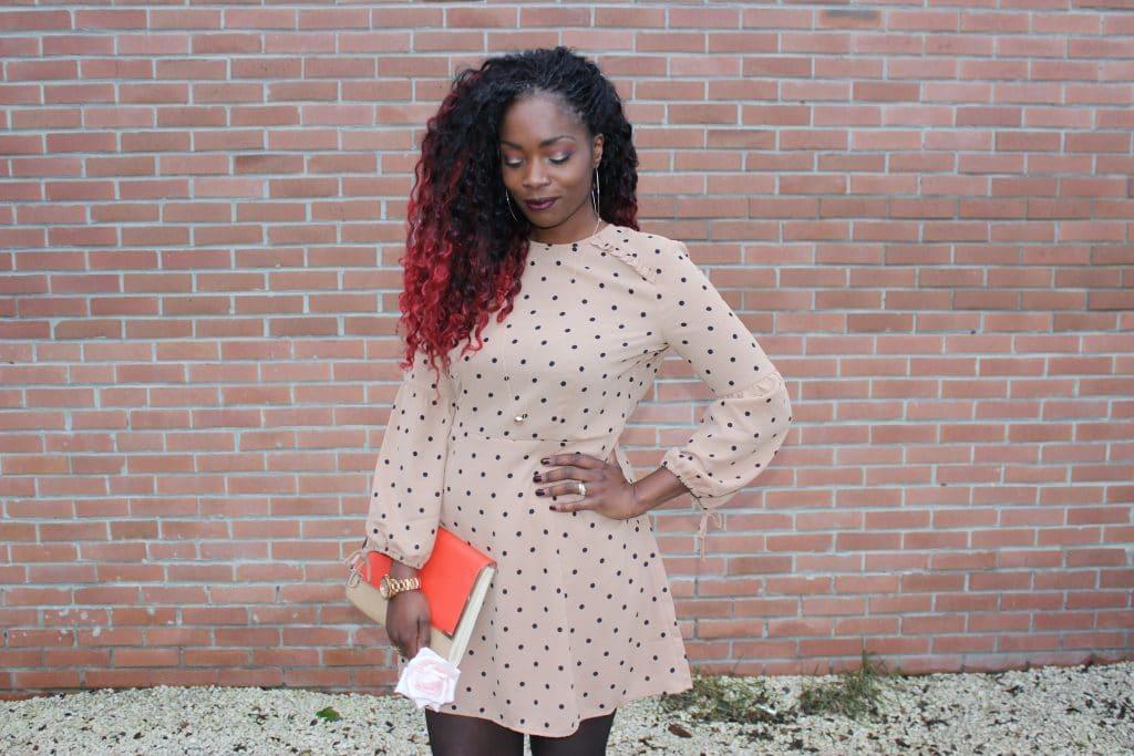robe h&m look romantique
