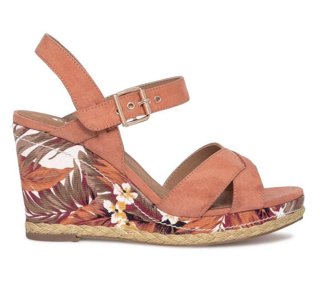 sandales à talons compensés Eram 2017 été