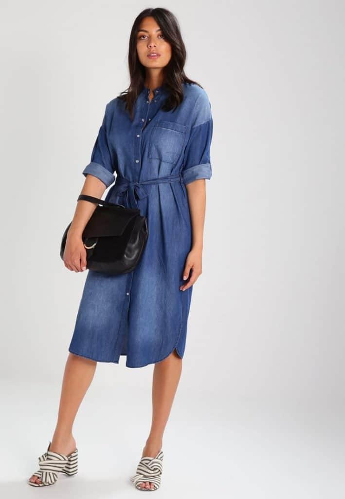 robe en jean zalando