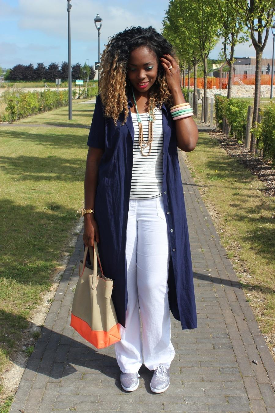 Comment porter les chaussures blanches? Personal Shopper
