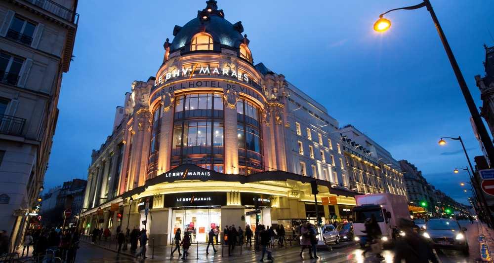 Les grands magasins, BHV du Marais Paris personal shopper au printemps paris